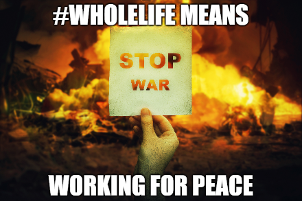 Wholelife means working for peace